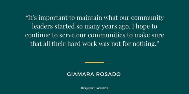 Gia Rosado Quote_Hispanic Executive