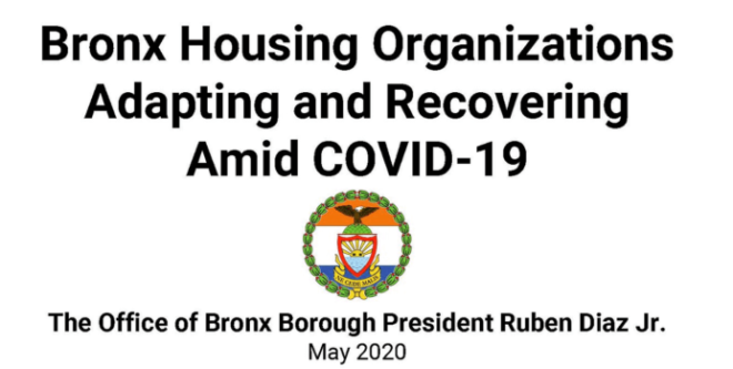bronx bp report cover 2020
